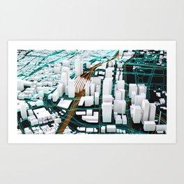 Tokyo Extract Art Print