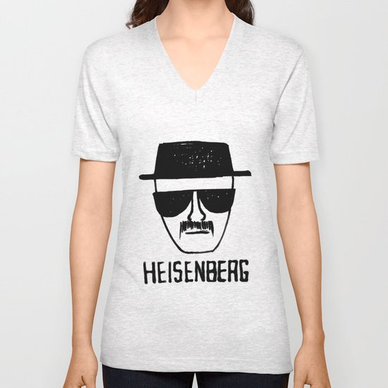 Heisenberg - Breaking Bad Sketch Unisex V-Neck