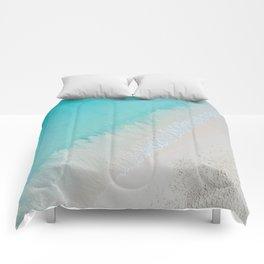 caribbean paradise Comforters