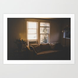 Golden Living Art Print