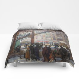 Elevated Columbus Avenue - Gifford Beal Comforters