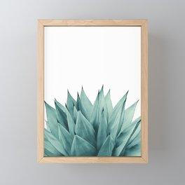 Agave Vibes #8 #tropical #decor #art #society6 Framed Mini Art Print