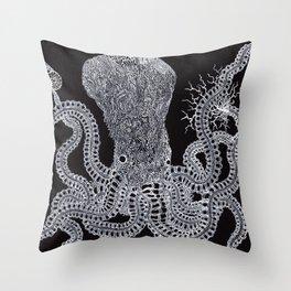 Life of Oceans: Tako Throw Pillow