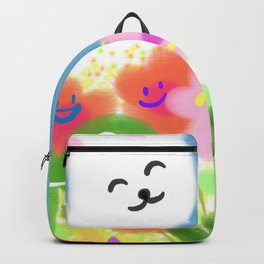 Live happy life  Backpack
