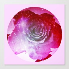 Digital Rose of Cosmos Canvas Print