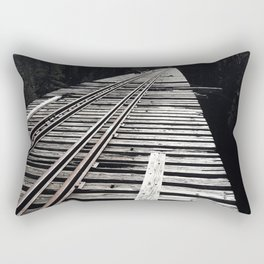 Forgotten Bridge Rectangular Pillow