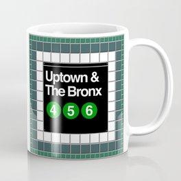 subway bronx sign Coffee Mug