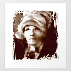 Haiti Portraits / 06 / series /1 Art Print