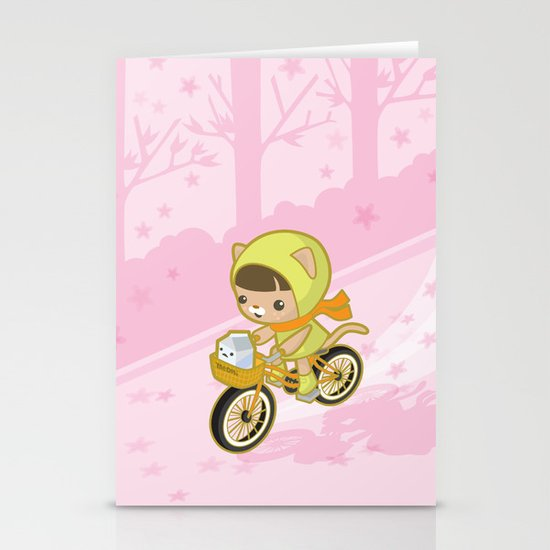 Blossom Ride Stationery Cards