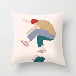 Heelflip Throw Pillow