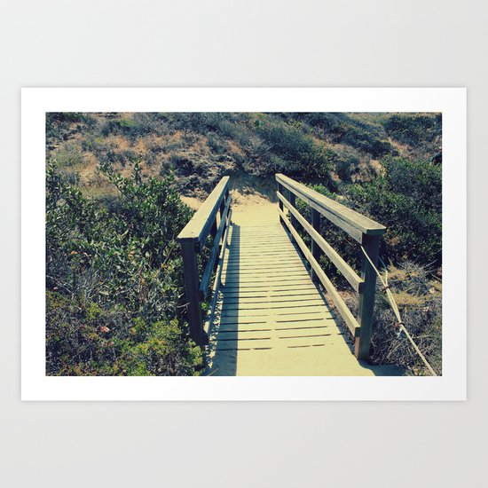 Little bridge Art Print