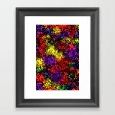 Color Galore Framed Art Print