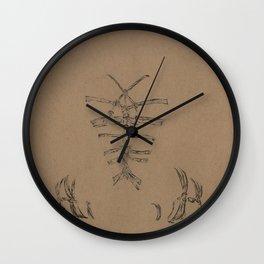 Pure Kinbaku Wall Clock