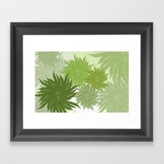 Feathered Framed Art Print