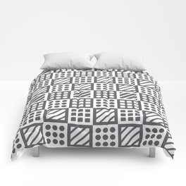 Billiplay Geometric Comforters