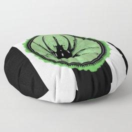 Juicy Beetle GREEN Floor Pillow