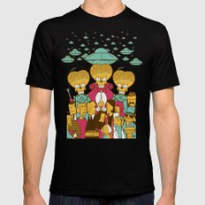 Mars Attacks! Black LARGE Mens Fitted Tee