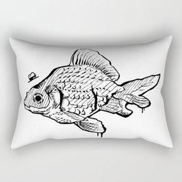 Mr Fish Rectangular Pillow