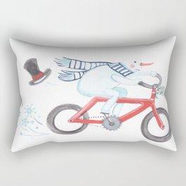 Walden's Red Bike Rectangular Pillow