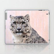 Snow Leopard in Pink Laptop & iPad Skin