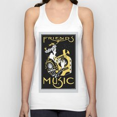 Friends of Music Unisex Tank Top