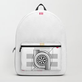 Turbo engine Backpack