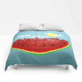 Watermelon City Comforters