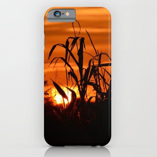 Silhouttes in a Sunrise iPhone & iPod Case