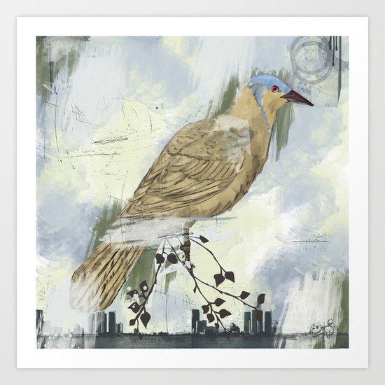 Bird City Art Print