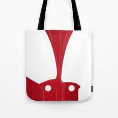 Silhouette Racers - Ferrari 250 GTO Tote Bag