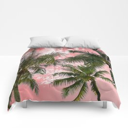 Pink paradise Comforters