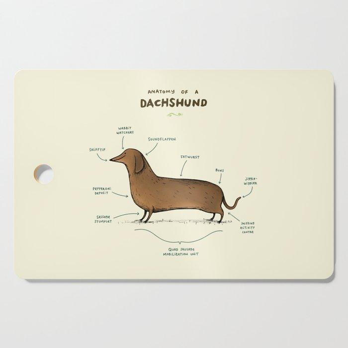 Anatomy of a Dachshund Cutting Board