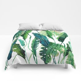 tropical compilation Comforters