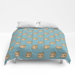 Cat Loaf - Orange Tabby Kitty Comforters