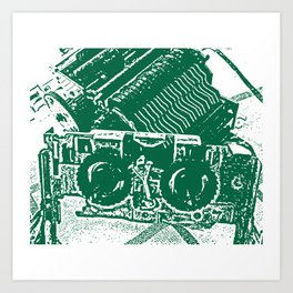 Calculator 2 Art Print