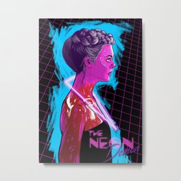 The Neon Demon Metal Print