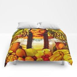Vintage Bountiful Mexico Travel Comforters