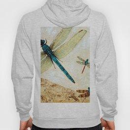 Zen Flight - Dragonfly Art By Sharon Cummings Hoody