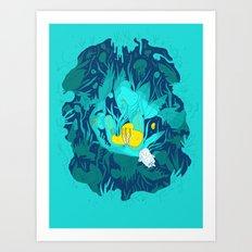 Undiscovered Wonder of the Sea Art Print