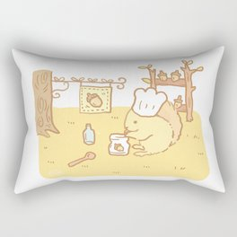 Squirrel Jam Rectangular Pillow