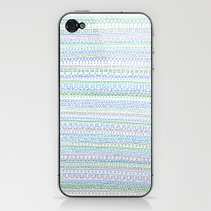 Blue Green iPhone & iPod Skin