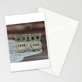 Love you owls Stationery Cards