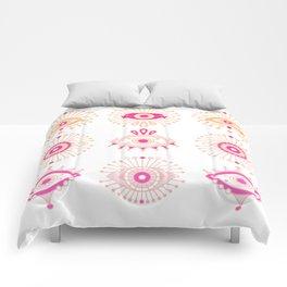 Evil Eyes – Pink Ombré Palette Comforters