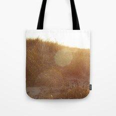 Montauk Sand Dune Sunflare Tote Bag