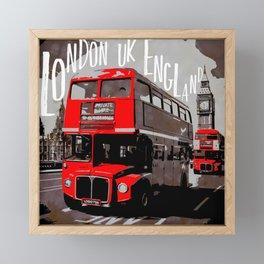 City-Art LONDON Westminster Framed Mini Art Print