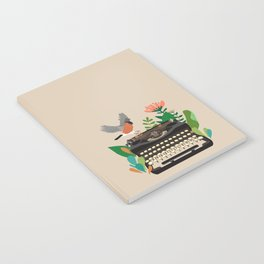 The bird and the typewriter Notebook