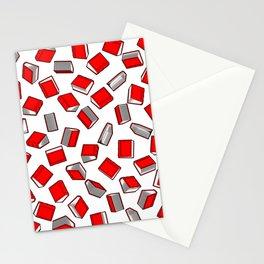 Polka Dot Books Pattern II Stationery Cards