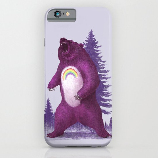Scare Bear iPhone & iPod Case