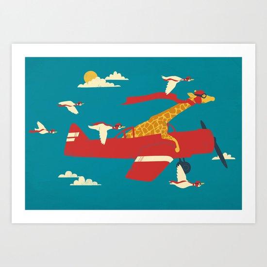 Red Barons Art Print