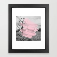 Pink Texas / Marfa Framed Art Print